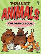 Forest Animal Coloring Book