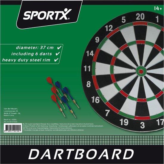 Thumbnail van een extra afbeelding van het spel Sport | Dart - Sportx Dartbord 37cm