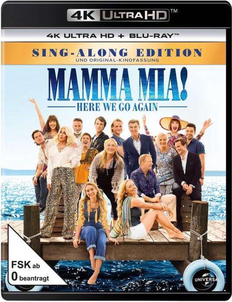 Mamma Mia! Here we go again (Ultra HD Blu-ray & Blu-ray)-