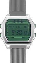 I AM THE WATCH - Horloge - 44mm - Zilverkleurig/groen/grijs - IAM-KIT24