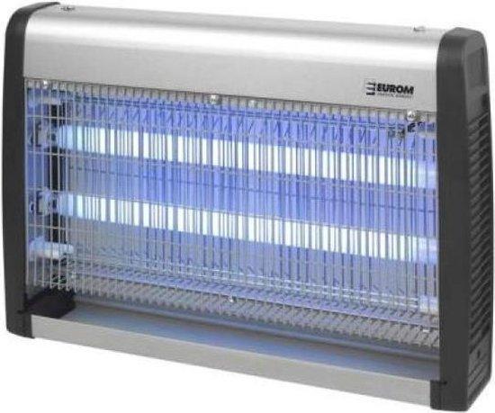 Eurom Fly Away 30-2 insectenlamp - 2x15 Watt UV - 150m² - insectendoder
