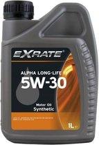 Exrate Motorolie 5W30 Alpha Longlife III - 1 Liter