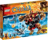 LEGO Legends of Chima - Bladvic's Vechtmachine (70225) - Goud