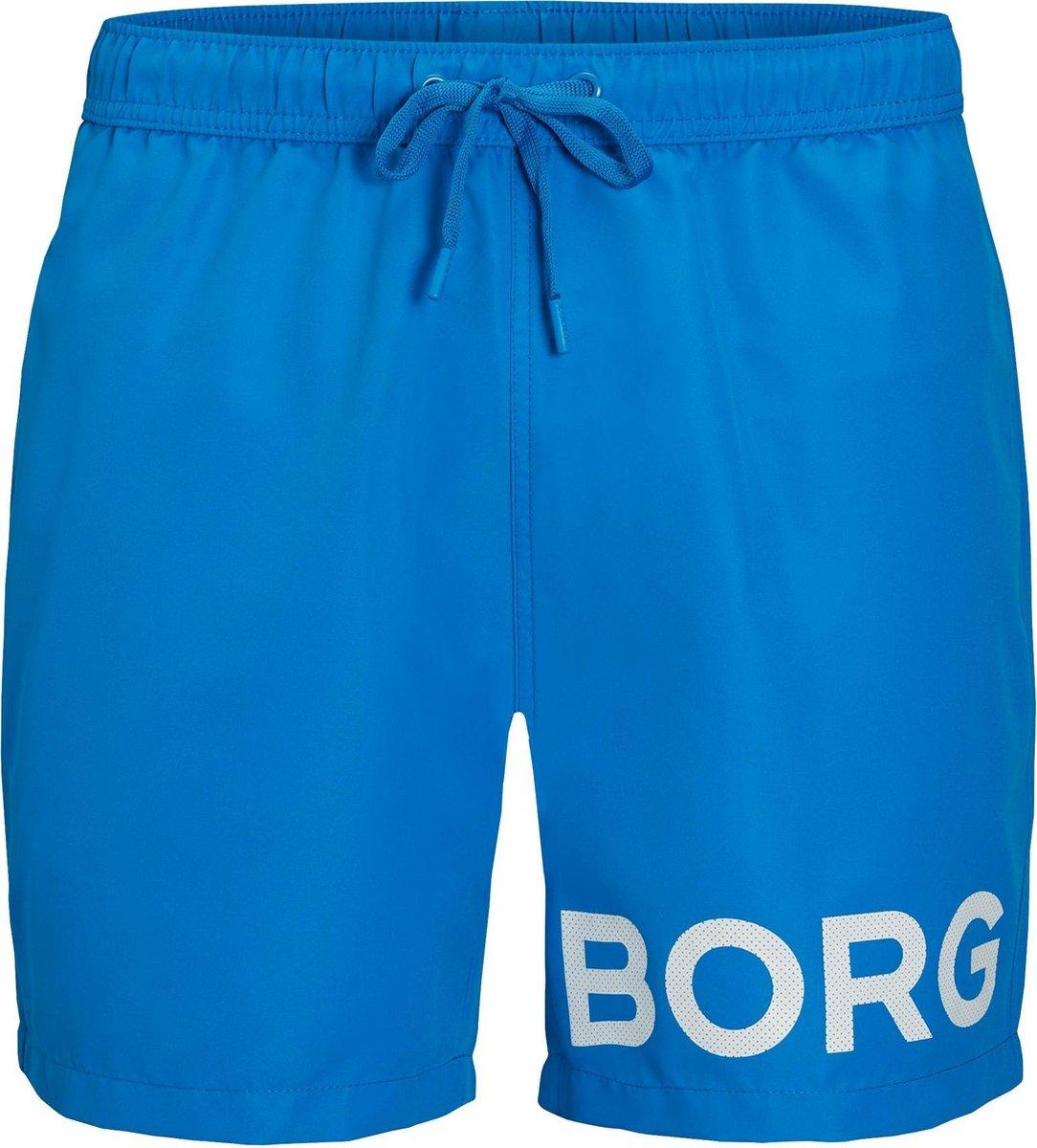 Bjorn Borg Zwembroek - Maat 158/164  - Jongens - blauw/wit