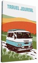 Boek cover Travel Journal: Sunshine Camper van Sukie