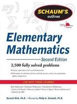 Boek cover Schaums Outline of Review of Elementary Mathematics van Philip Schmidt