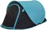 Maxxgarden Pop Up Tent Festival En Camping Tent 255X155X95 Cm - Blauw - 2 Persoons