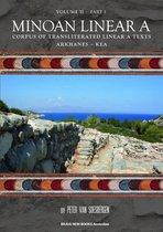 Minoan Linear A, Volume II, Part 1