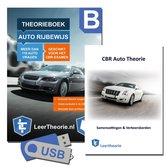 AutoTheorieboek met AutoTheorieBoek Leren en Oefenen USB en AutoTheorieboek Rijbewijs B Samenvatting 2021 (NIEUW!)