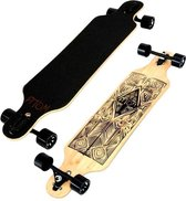 "Atom Drop-Through Tiki Bamboo 40"" Longboard"