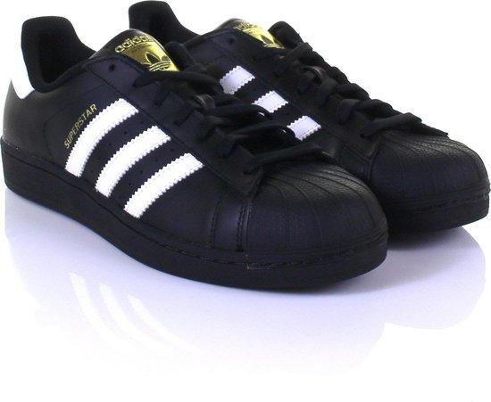 adidas Superstar Foundation - Sneakers - Heren - Maat 46 2/3 - zwart/wit