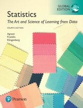 Afbeelding van Statistics: The Art and Science of Learning from Data