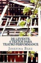 de Levente. 4 Textos Para Teatro Performance