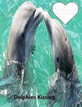 Kissing Dolphins Story Paper Composition Book