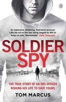 Boek cover Soldier Spy van Tom Marcus