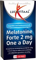 Lucovitaal Melatonine Forte 2 mg One a Day Voedingssupplementen - 150 tabletten