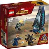 LEGO Marvel Super Heroes Avengers Outrider shuttle aanval - 76101