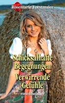 Boek cover Schicksalhafte Begegnungen / Verwirrende Gefühle van Rosemarie Forstmaier