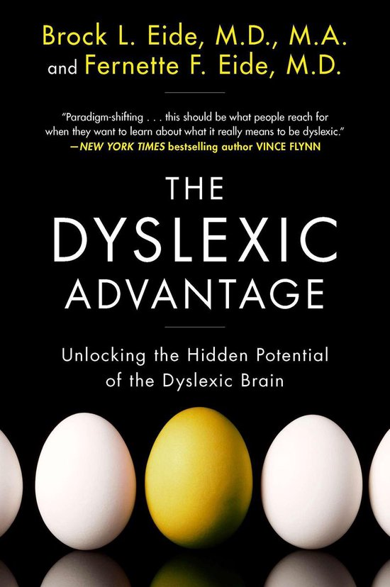 Boek cover The Dyslexic Advantage van Brock L Eide (Paperback)