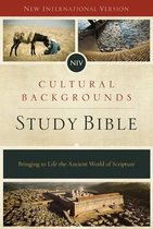 NIV, Cultural Backgrounds Study Bible, Hardcover, Red Letter
