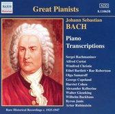 Bach.J.S: Piano Transcriptions