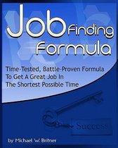 Job Finding Formula