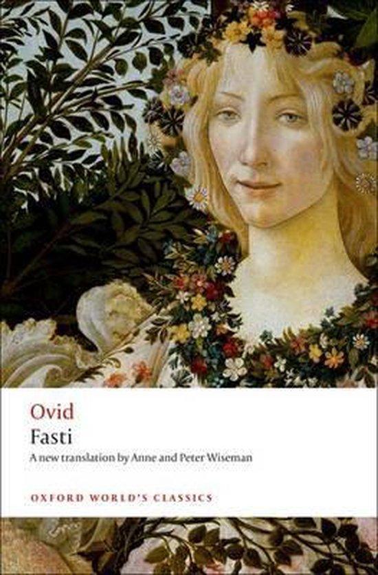 Boek cover Fasti van Ovid (Paperback)