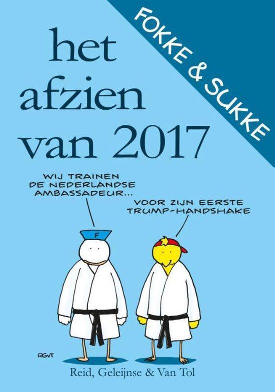 Boek cover Fokke & Sukke  -   Het afzien van 2017 van John Reid (Paperback)