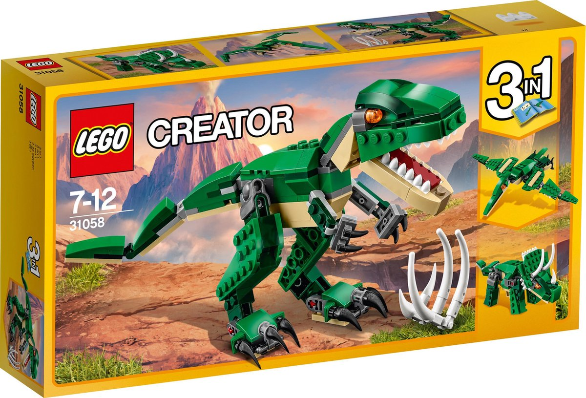 LEGO Creator Machtige Dinosaurussen - 31058 - LEGO