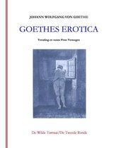 Boek cover Goethes erotica van Johann Wolfgang von Goethe (Paperback)