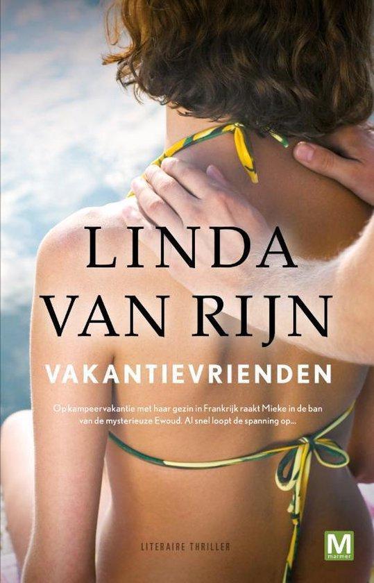 Boek cover Vakantievrienden van Linda van Rijn (Paperback)