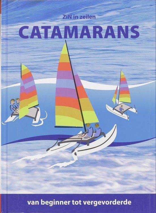 Cover van het boek 'ZiN in Zeilen, Catamarans'
