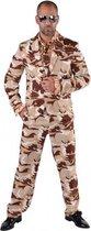 Camouflage kostuum 3-delig voor heren 64-66 (2xl)