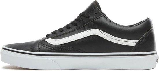 Vans Old Skool - Sneakers - Unisex - Classic Tumble - Zwart/Wit - Maat 38.5 - Vans