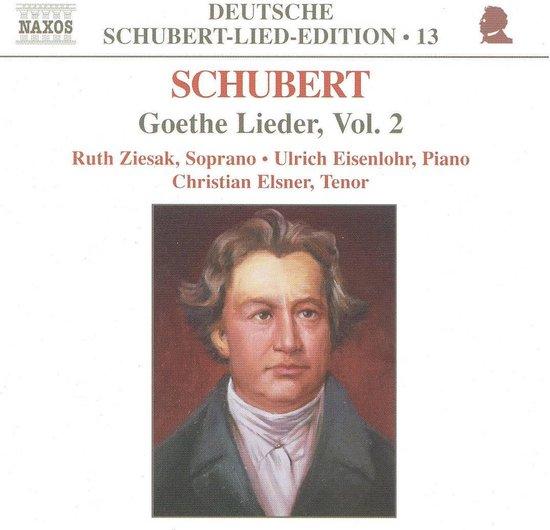 Schubert: Goethe Lieder, Vol.2