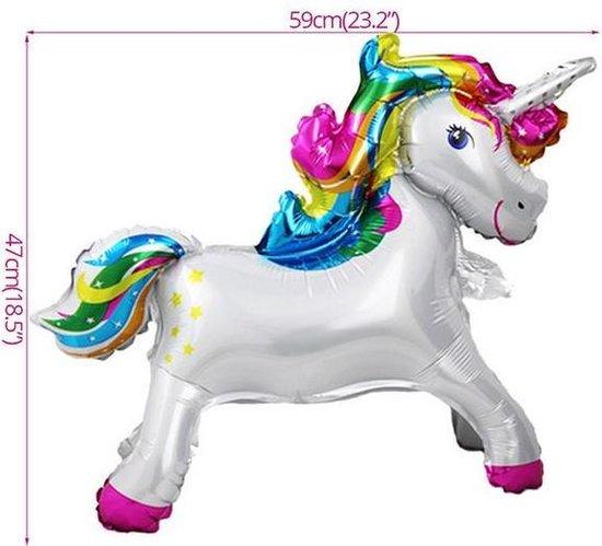 Helium ballon Unicorn - eenhoorn 59x47 cm ®Pippashop