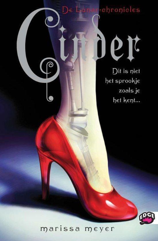 Cover van het boek 'De lunar chronicles. Cinder' van Marissa Meyer