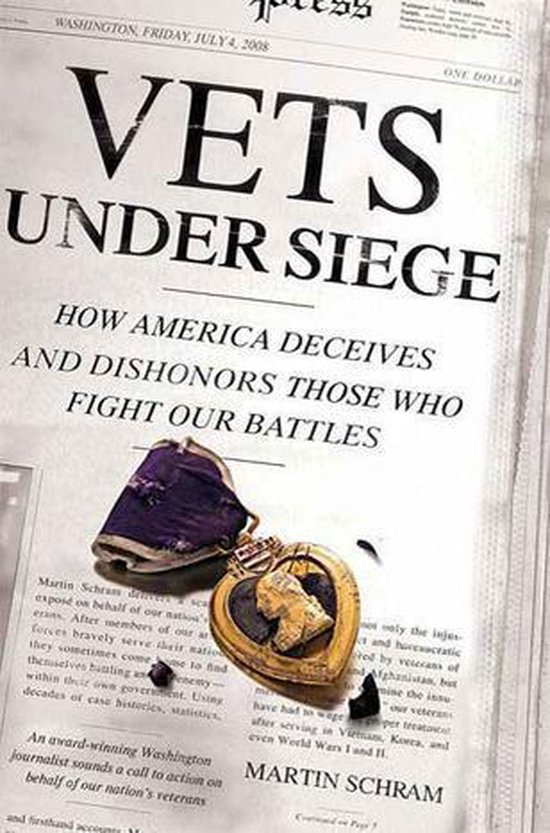 Omslag van Vets Under Siege