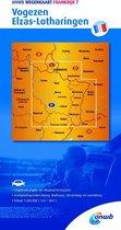 ANWB wegenkaart - Frankrijk 7. Vogezen,Elzas-Lotharingen