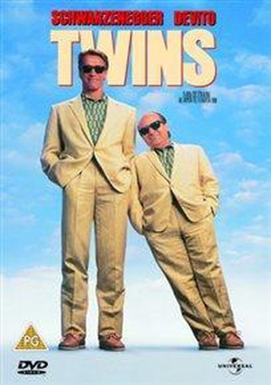 Cover van de film 'Twins'