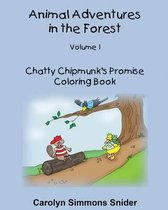 Chatty Chipmunk's Promise Coloring Book