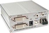 Lindy KVM Extender DVI-D Sender SL Fibre Optic Tx 500m