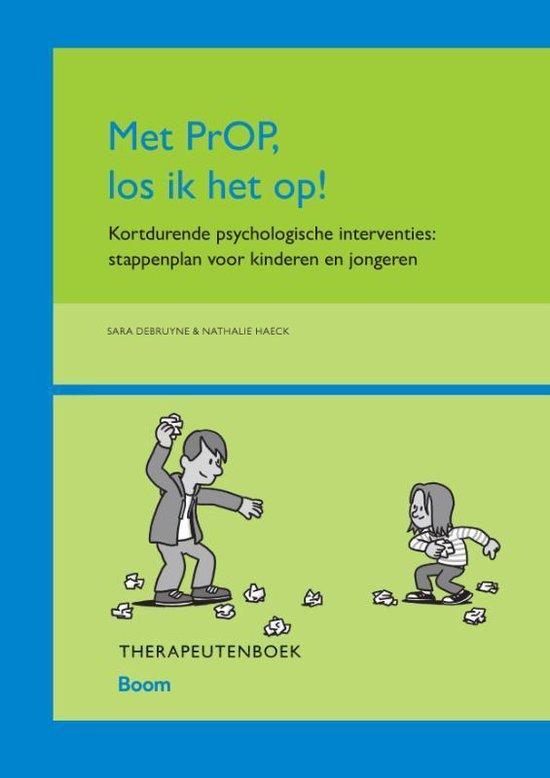 Met PrOP los ik het op! Therapeutenboek - Sara Debruyne |