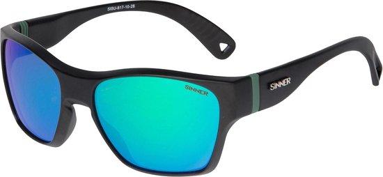 Sinner Gunstock Unisex Zonnebrillen - Zwart - One Size