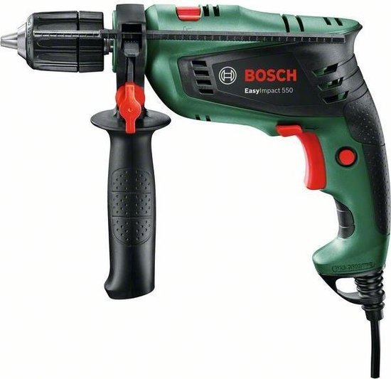 Bosch EasyImpact 550 Klopboormachine - 550W - Inclusief Opbergkoffer - Bosch