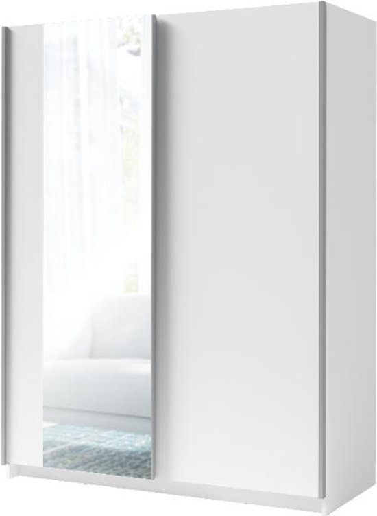 WOONENZO - Kledingkast Gose met spiegel - 150cm