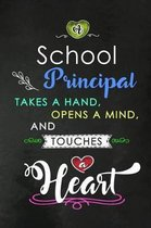 A School Principal takes a Hand and touches a Heart