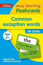 Common Exception Words Flashcards