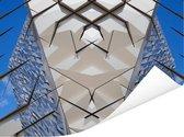 Prachtige afbeelding van de Titanic Belfast Poster 160x120 cm - Foto print op Poster (wanddecoratie woonkamer / slaapkamer) XXL / Groot formaat!