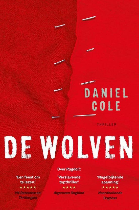 Boek cover De wolven van Daniel Cole (Onbekend)
